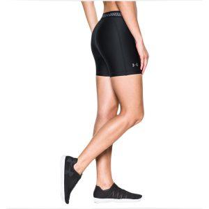 Under Armour dámske dlhšie kompresné kraťasy / UA HeatGear® Armour Middy Shorts