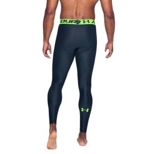 Under Armour pánske kompresné legíny / UA HeatGear® Armour Printed Compression Leggings