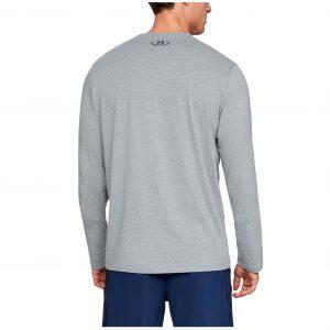 Under Armour pánsky bavlnený nátelník / UA Chest Logo Long-Sleeve T-Shirt