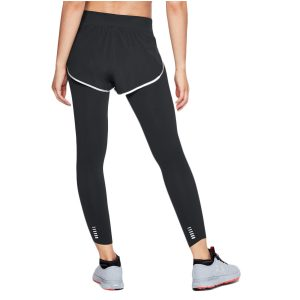 Under Armour dámske kompresné legíny s kraťasmi / UA Speedpocket 2-in-Runner Crop