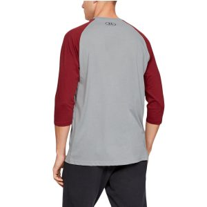 Under Armour pánsky bavlnený nátelník / UA Sportstyle Left Chest ¾ T-Shirt