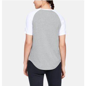 Under Armour dámske bavlnené tričko / UA Fit Kit Baseball T-Shirt