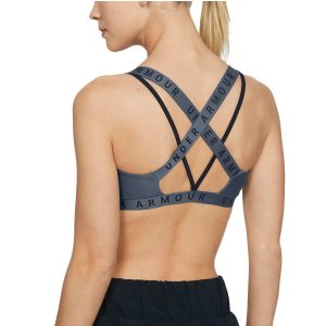 Under Armour dámska podprsenka / UA Wordmark Strappy Sports Bralette Bra