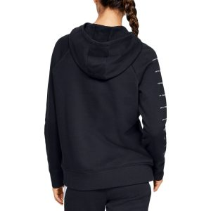 Under Armour dámska mikina / UA Rival Fleece Sportstyle LC Sleeve Graphic