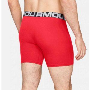 Under Armour pánske bavlnené boxery 3ks v balení / UA Charged Cotton® 15 cm Boxerjock® – 3-Pack