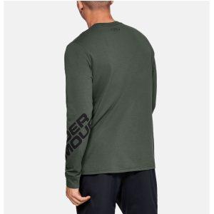 Under Armour pánsky bavlnený nátelník / UA Wordmark Sleeve Long Sleeve