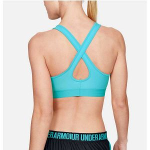 Under Armour dámska kompresná podprsenka / Armour® Mid Crossback Sports Bra