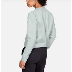 Under Armour dámska mikina / UA Recovery Fleece Script Crew