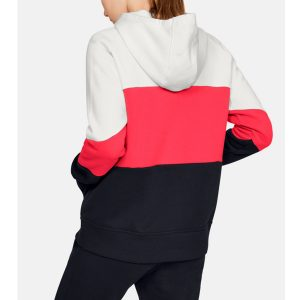 Under Armour dámska mikina / UA Rival Fleece Colour Block Hoodie